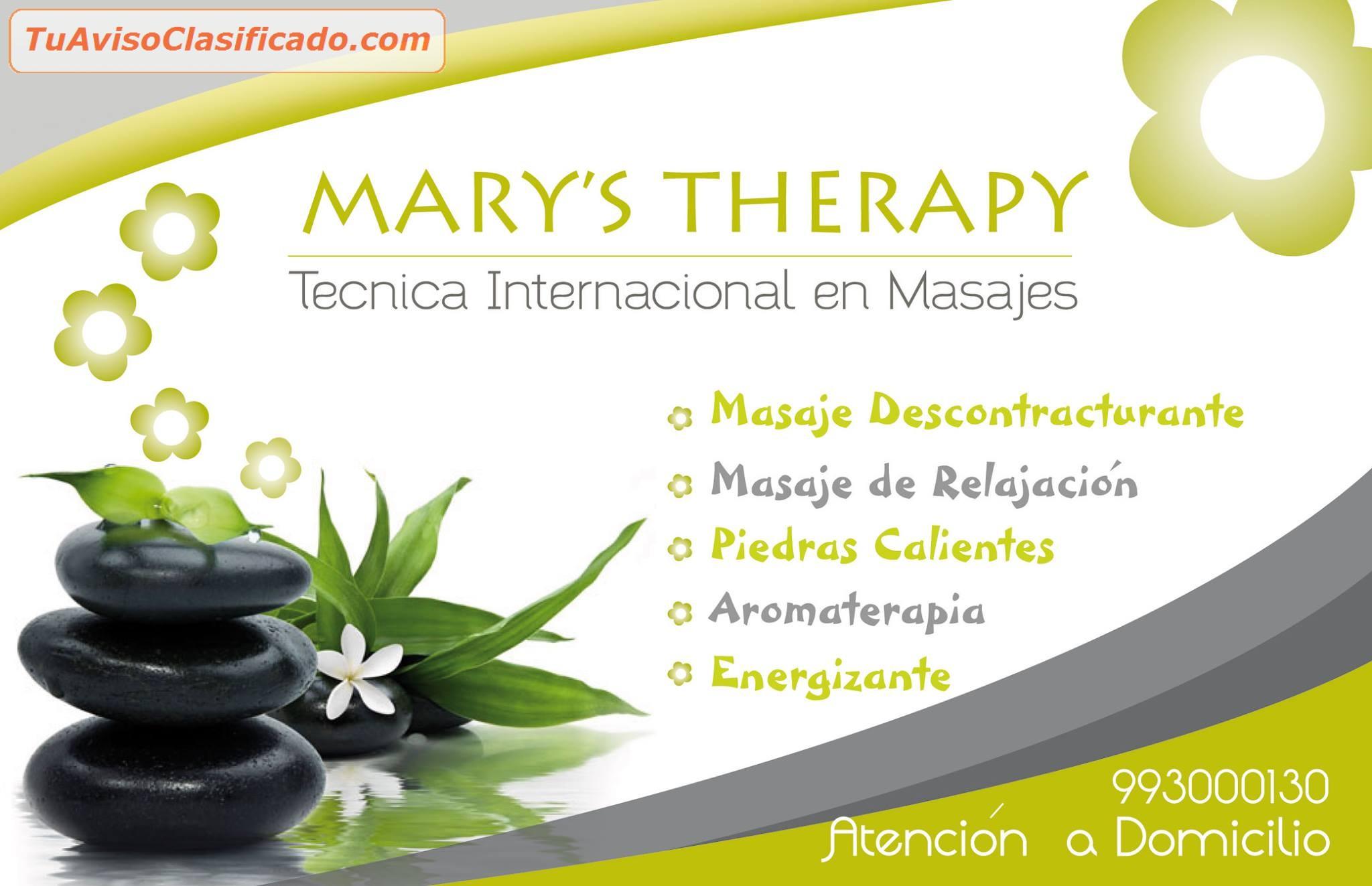 MASAJES DE RELAJACION - Servicios y Comercios > Salud y Belleza
